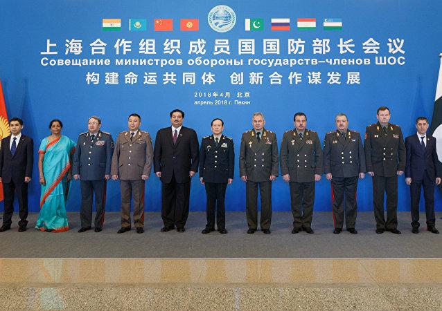 上合组织成员国国防部长会议