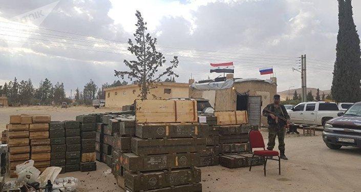恐怖分子的火药库落入叙利亚政府军手中