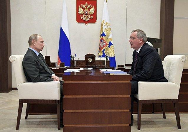 普京建議前副總理羅戈津率領俄航天集團
