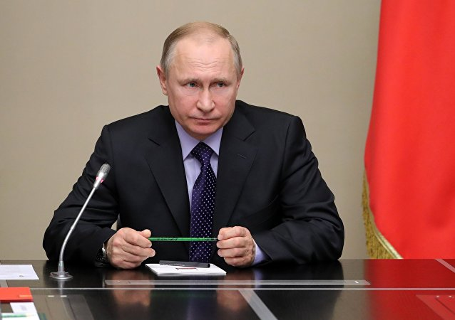 普京與俄安全會議委員討論伊核協議形勢