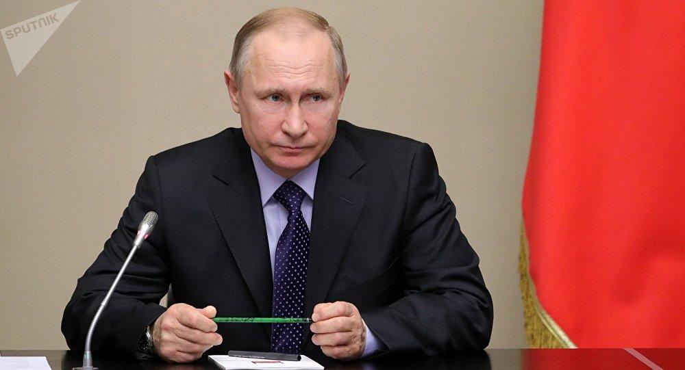 俄總統普京表示,針對威脅俄羅斯的侵略性行為,我們將採取對等的措施予以回應