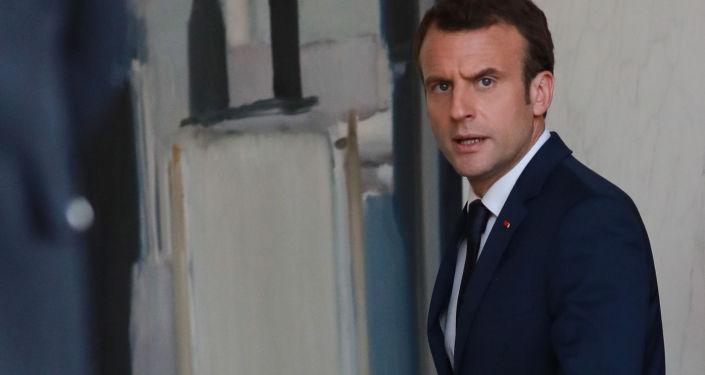 法国总统埃玛纽埃尔•马克龙
