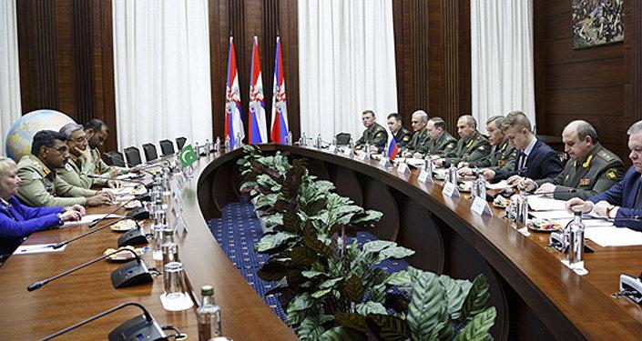 俄巴两国总参谋长讨论了地区安全问题