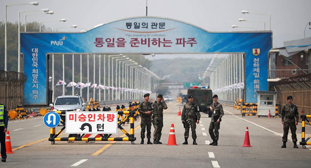 朝韩就下次首脑会晤的时间和地点问题进行磋商