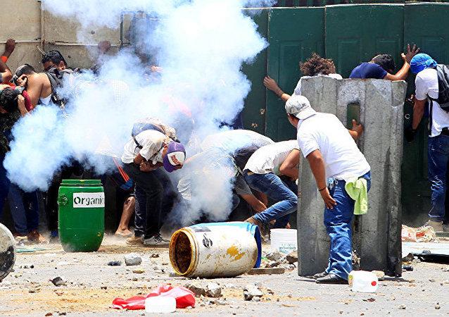 维权组织:尼加拉瓜抗议活动死亡人数增至63人