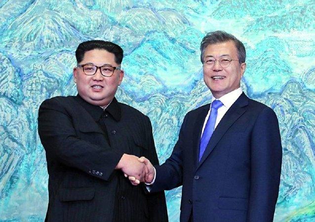 文在寅在朝韩峰会上拟将安排朝鲜和美国间对话