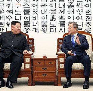 望朝韓首腦板門店會晤開闢半島長治久安的新徵程