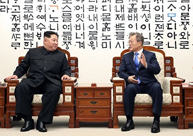 望朝韩首脑板门店会晤开辟半岛长治久安的新征程