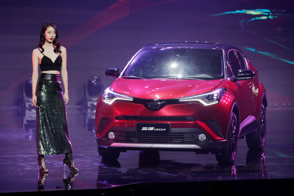 丰田奕泽(Toyota IZOA)推介会上的款型