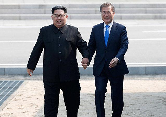 民调:多数韩国人积极看待韩朝领导人峰会