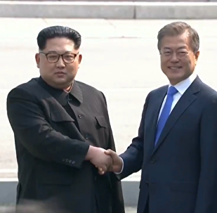 朝韓領導人舉行首輪會談