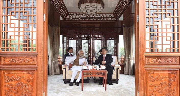 中印武汉会晤证明双方有意巩固互信
