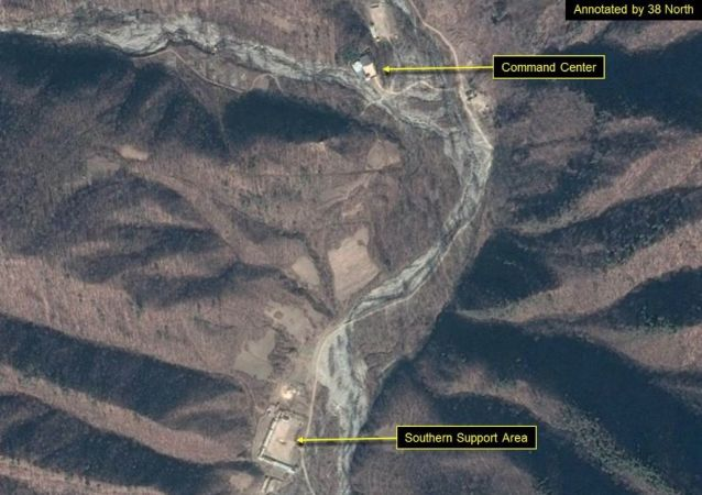 莫斯科对朝鲜拆除丰溪里核试验场的决定表示欢迎