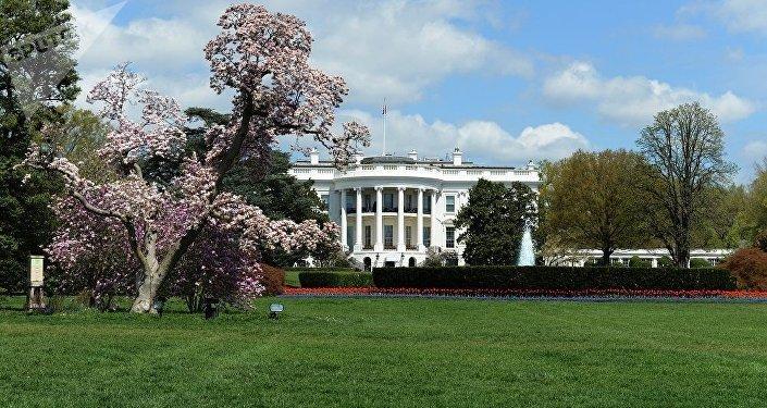 白宮南草坪