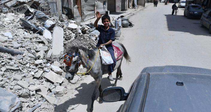 俄塞瓦斯托波爾向敘利亞發出第二批1萬多噸糧食