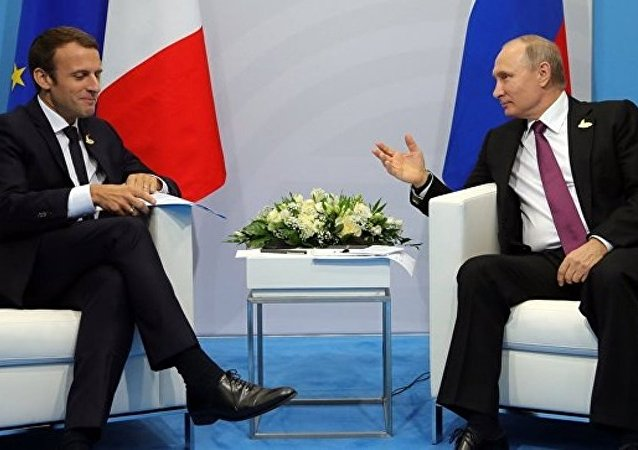法國總統希望與俄羅斯總統進行戰略性、歷史性對話