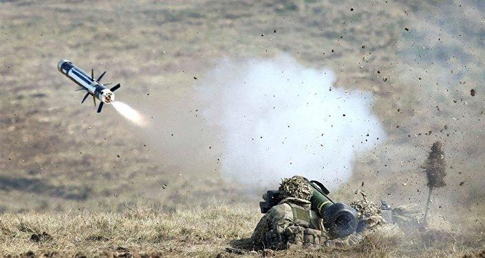 """乌克兰总参谋长称军队已通过反坦克武器""""标枪""""的培训"""