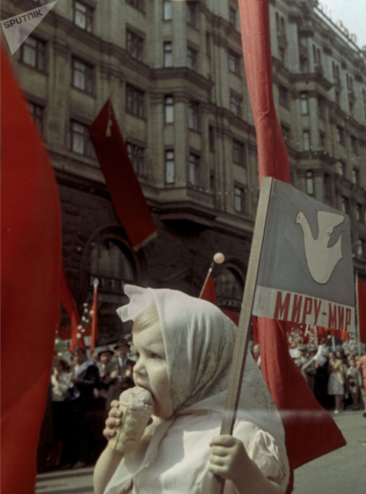 1964年5月1日紅場勞動人民大遊行