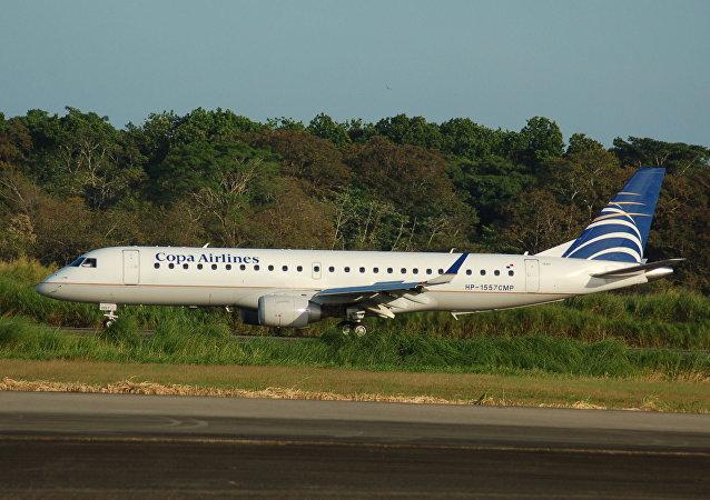 巴拿马航空公司(Copa Airlines)的 Embraer 190 客机