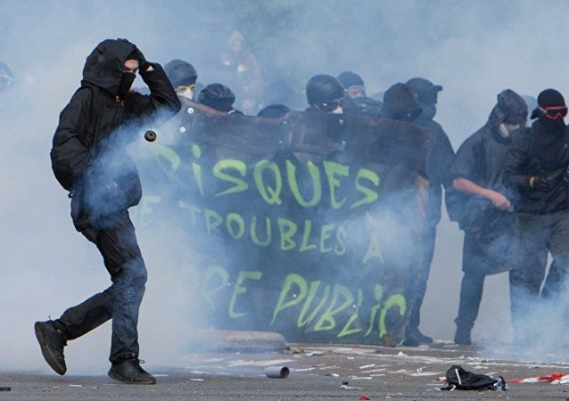 巴黎五一示威遊行騷亂