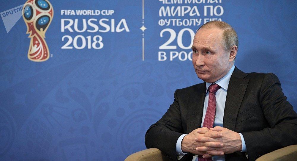 普京将出席世界杯开幕式