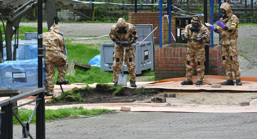 英國媒體通報斯科里帕爾事件新「嫌疑人」的情況