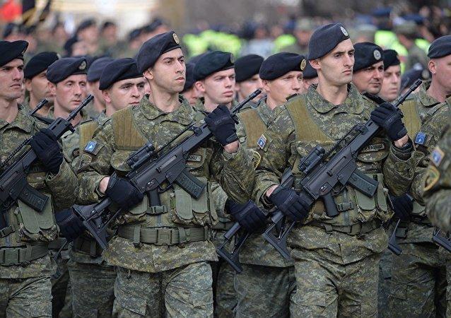 美國協助建立科索沃軍違反國際法