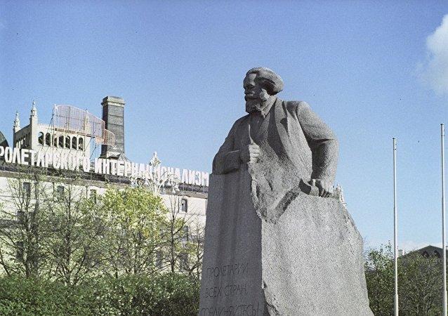 馬克思紀念碑,莫斯科