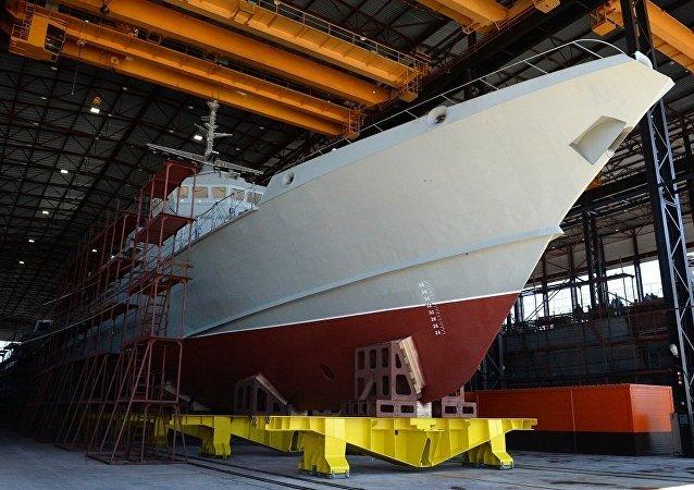 """""""飓风""""号导弹舰将于五月中旬在拉多加湖试航"""