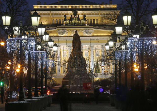 俄羅斯聖彼得堡的亞歷山德里娜劇院