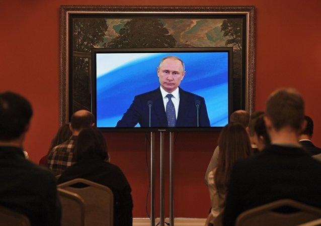 莫斯科超过130万人收看普京就职仪式电视直播