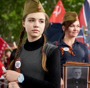 """""""不朽军团""""游行活动在各国举行"""