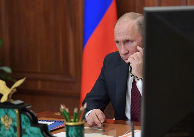 普京:俄罗斯需在各领域取得突破