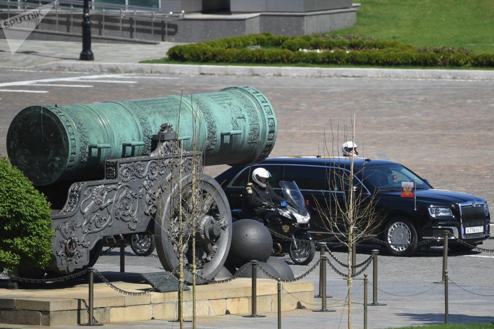 俄羅斯總統弗拉基米爾·普京的Aurus 座駕