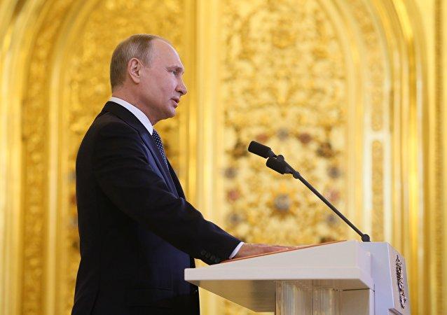 普京是五月份俄罗斯最具影响力的政治家