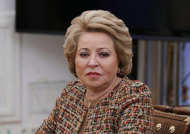 俄聯邦委員會主席:普京將在明年第一季度發表國情咨文