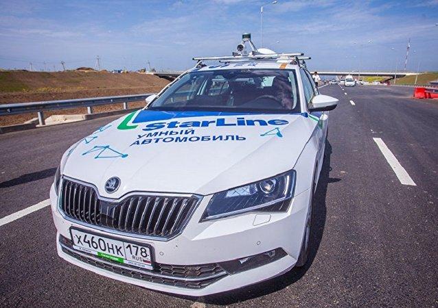 俄羅斯無人駕駛汽車