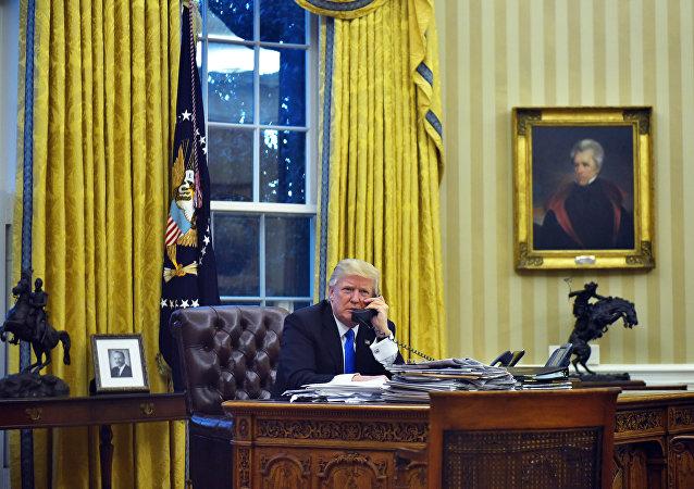 特朗普將於週二北京時間22時30分與中國領導人討論貿易問題和朝鮮局勢