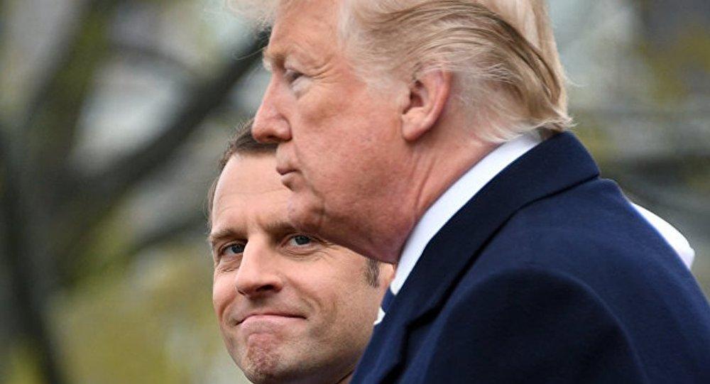 特朗普:法國總統為防範美國建立歐洲軍隊的想法非常令人受辱