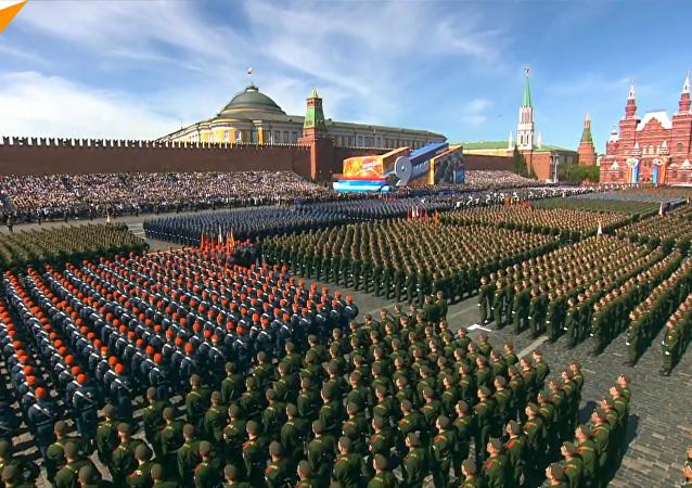 莫斯科胜利日阅兵