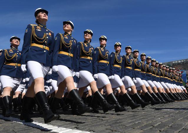 莫斯科紅場衛國戰爭勝利73週年閱兵