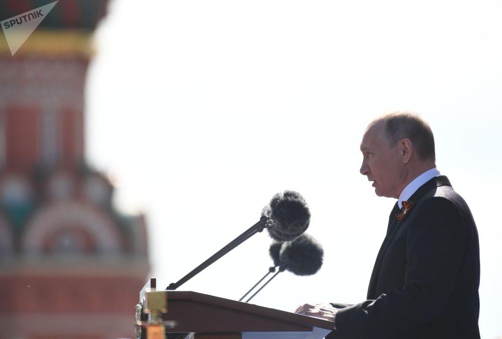 俄羅斯總統致辭