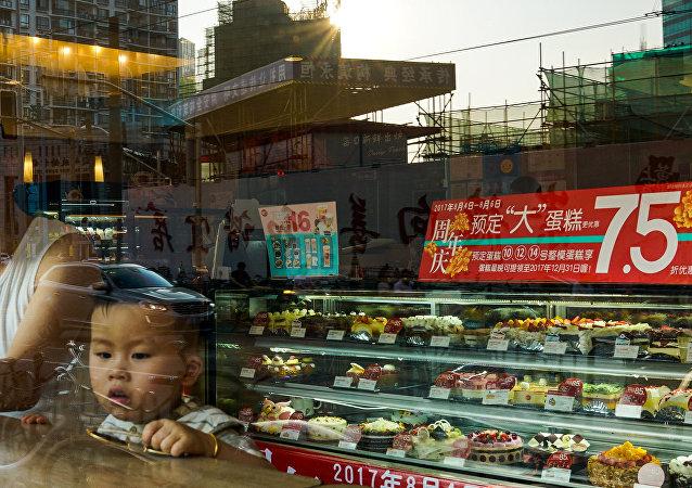 中国郑州一名顾客花22000美元买了一个面包