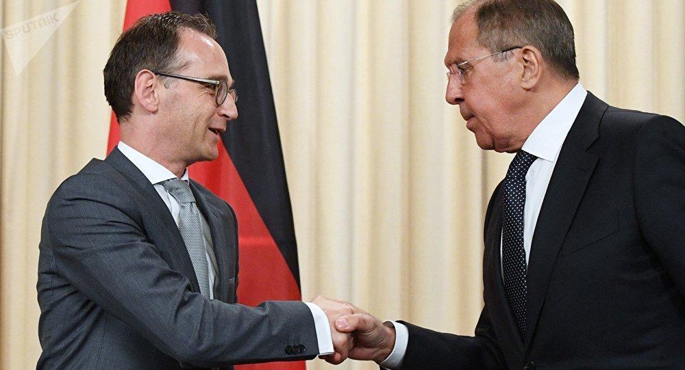 德國外長表示希望俄羅斯參與恢復明斯克進程