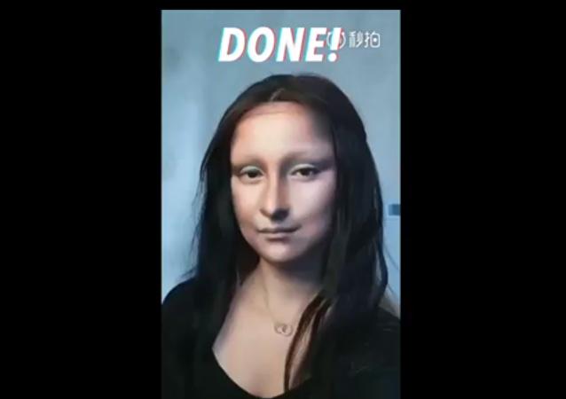 当代蒙娜丽莎(视频)