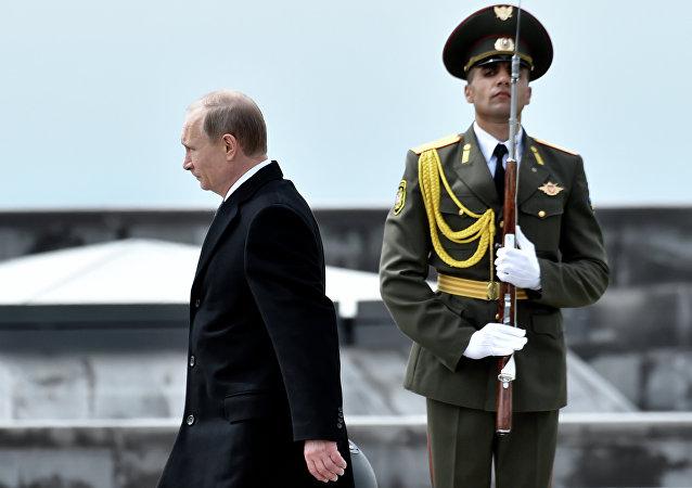 克宮:普京將於5月14日在索契會見亞美尼亞總理