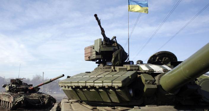 乌克兰坦克