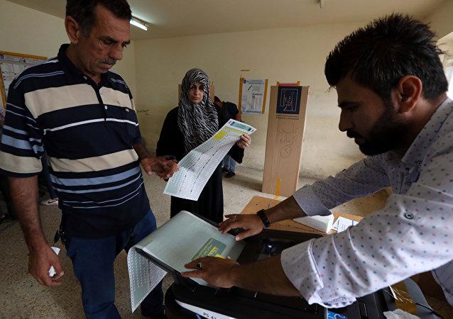 伊拉克选举