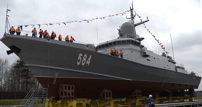 """22800型小型导弹舰(""""红带蛛"""")"""