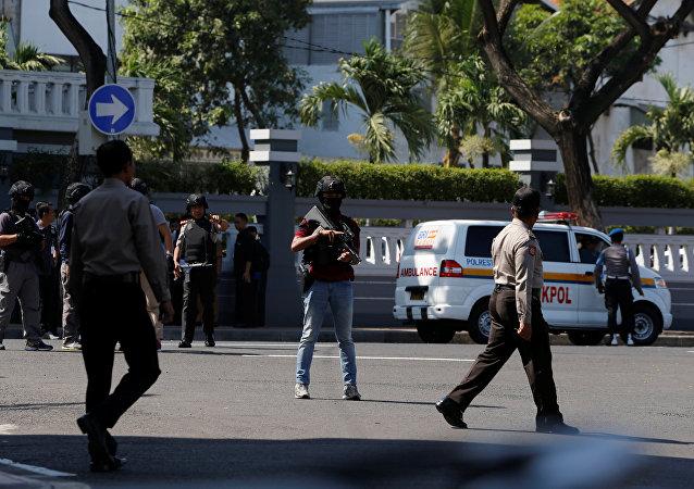 印尼警方逮捕了8名与棉兰爆炸案有关人员